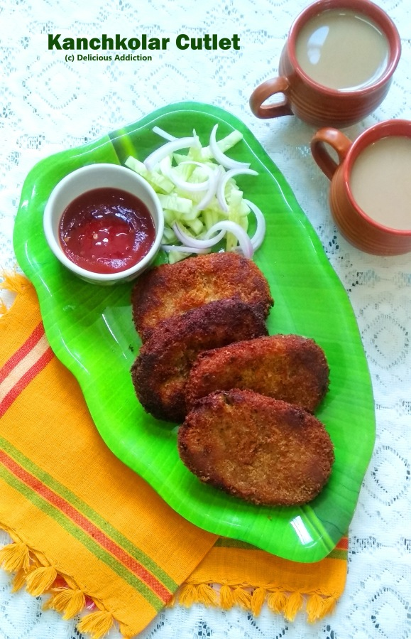 Kanchkolar Cutlet (Raw Banana Cutlet)