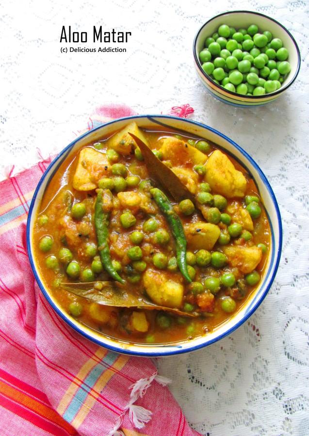 Aloo Matar (Potato n PeasCurry)