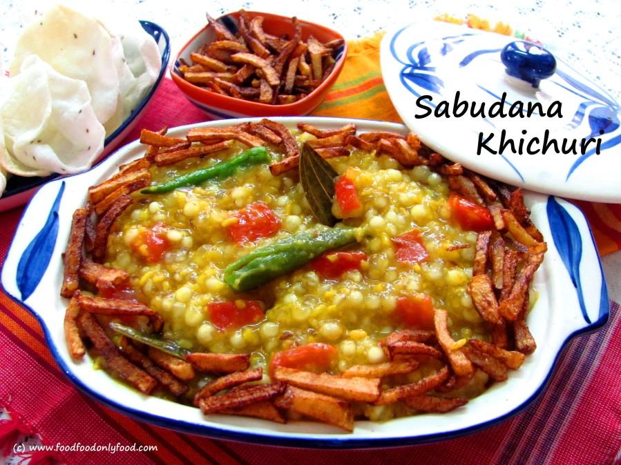 Sabudana Khichuri (Tapioca PearlKhichri)