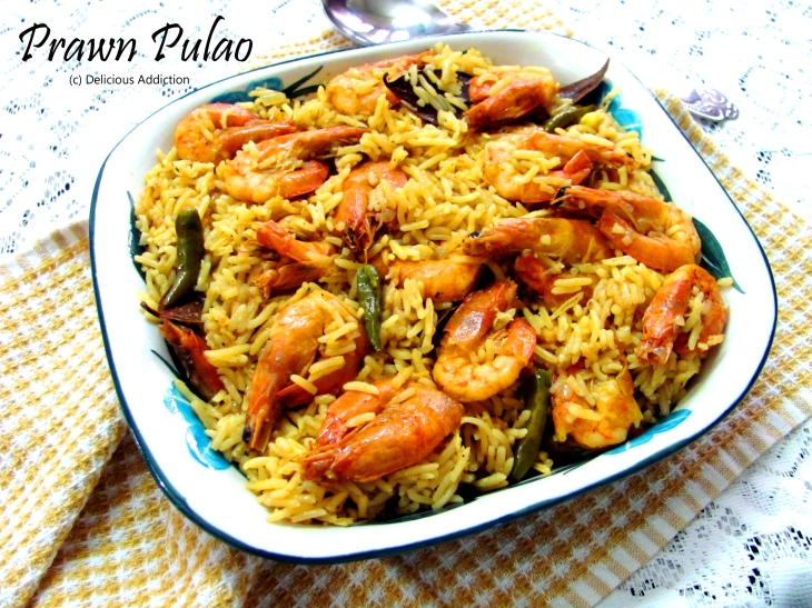 how to make prawns pulao