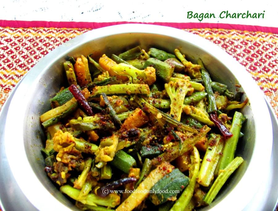 Bagan Charchari (Bengali Mixed Veg StirFry)