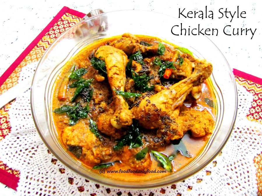Kerala Style ChickenCurry