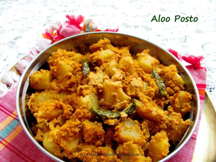 Aloo Posto (Potato Curry with Poppy SeedPaste)