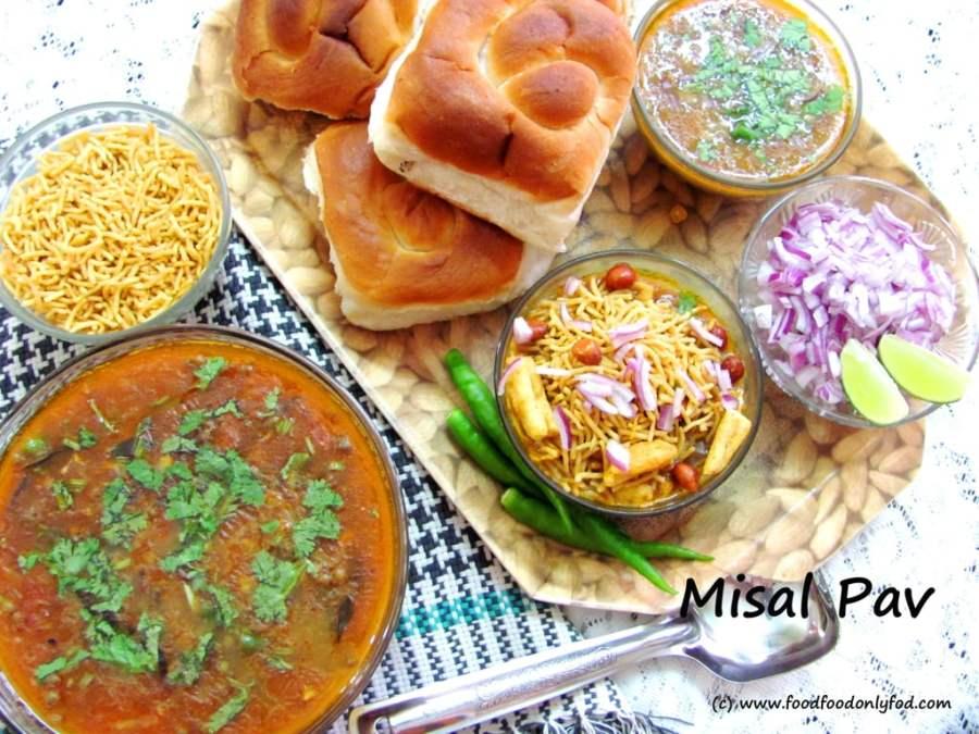 Misal Pav (A Traditional Maharastrian Dish forBreakfast)