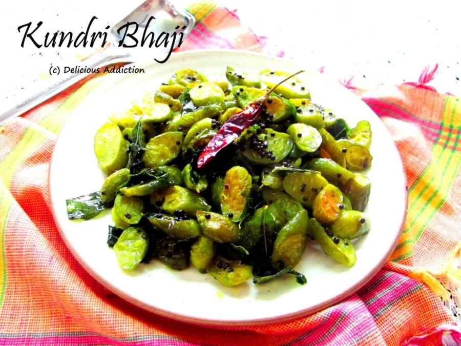 Kundri Bhaji (Ivy Gourd StirFry)