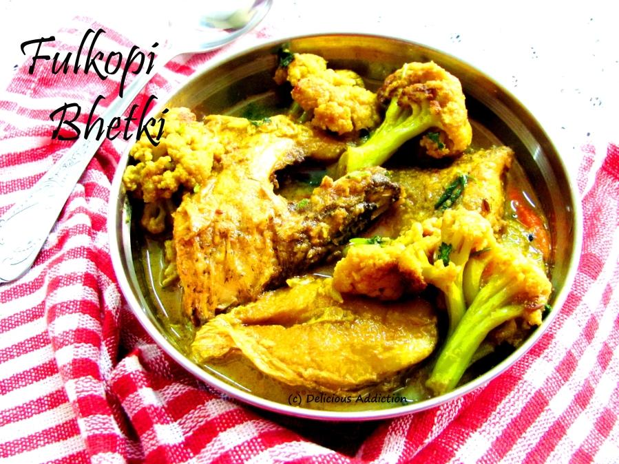 Fulkopi Bhetki (Barramundi Fish Curry with Cauliflower)