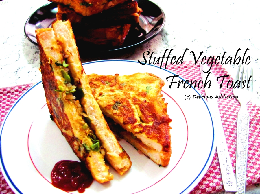 Stuffed Vegetable French Toast