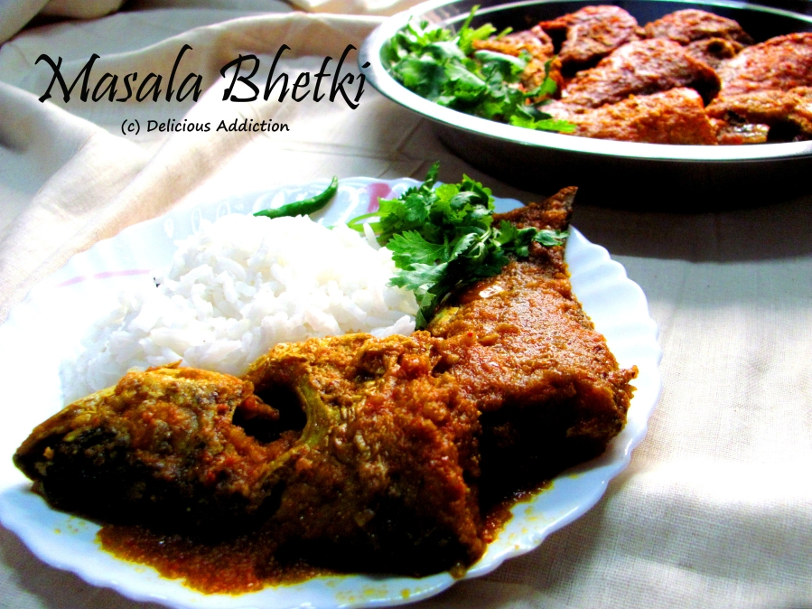 Masala Bhetki (Spicy Barramundi Fish Curry)