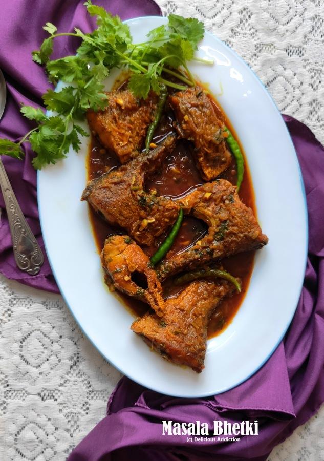 Masala Bhetki (Spicy Barramundi FishCurry)