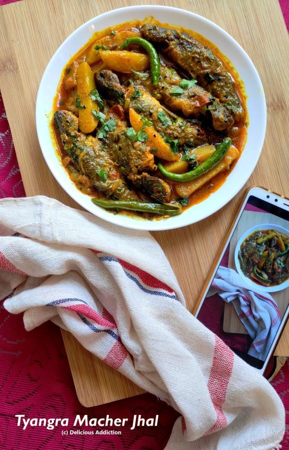 Tyangra Macher Jhal (Spicy Cat FishCurry)