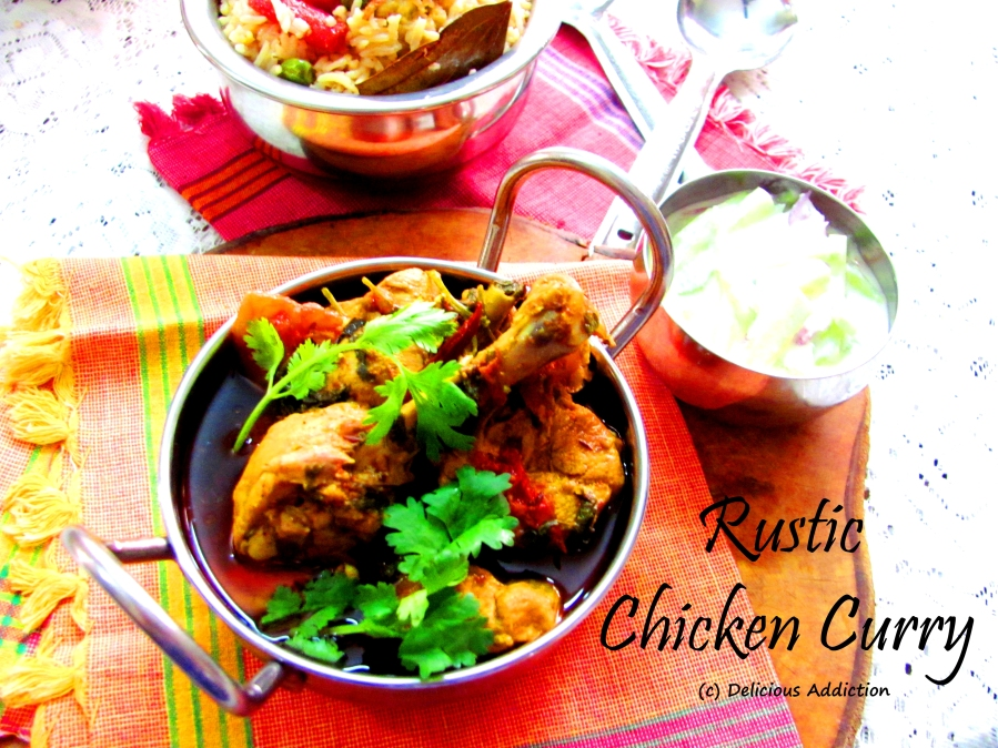 Rustic Chicken Curry