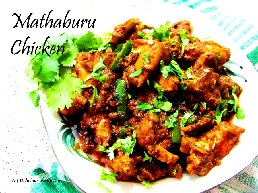 Mathaburu Chicken