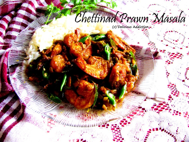Chettinad Prawn Masala South Indian Style Spicy Prawn Curry