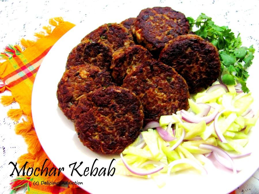 Mochar Kebab (Banana FlowerKebab)