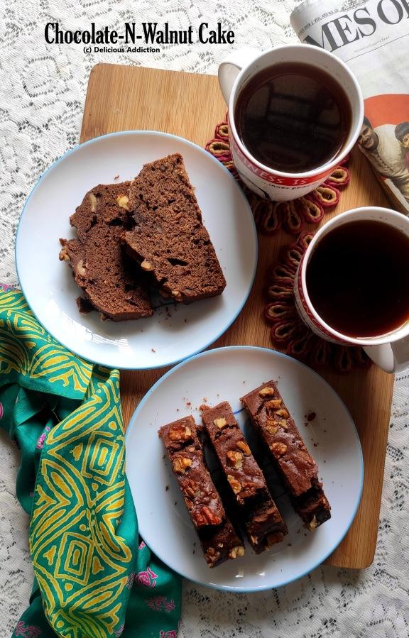 Chocolate and WalnutCake