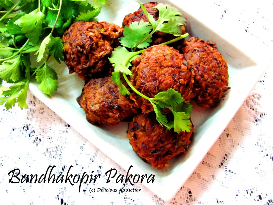 Bandhakopir Pakora (CabbageFritter)