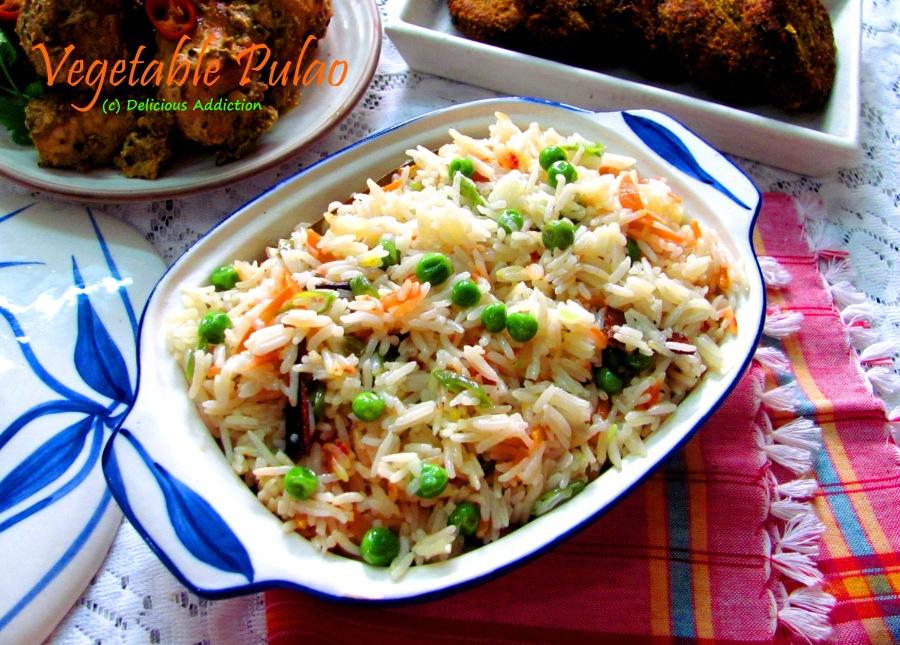 Vegetable Pulao (VegetablePilaf)