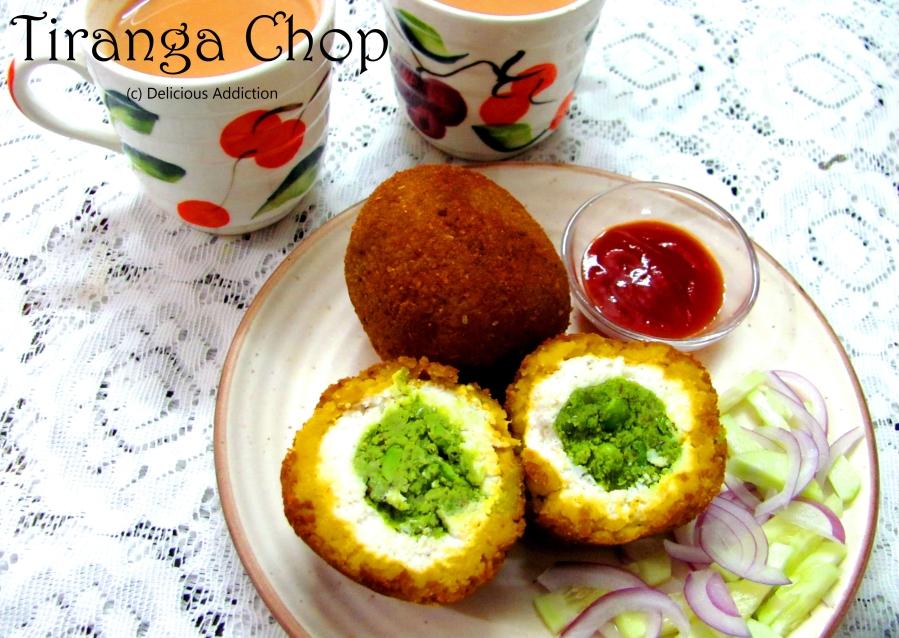 Tiranga Chop or TricolourCroquet