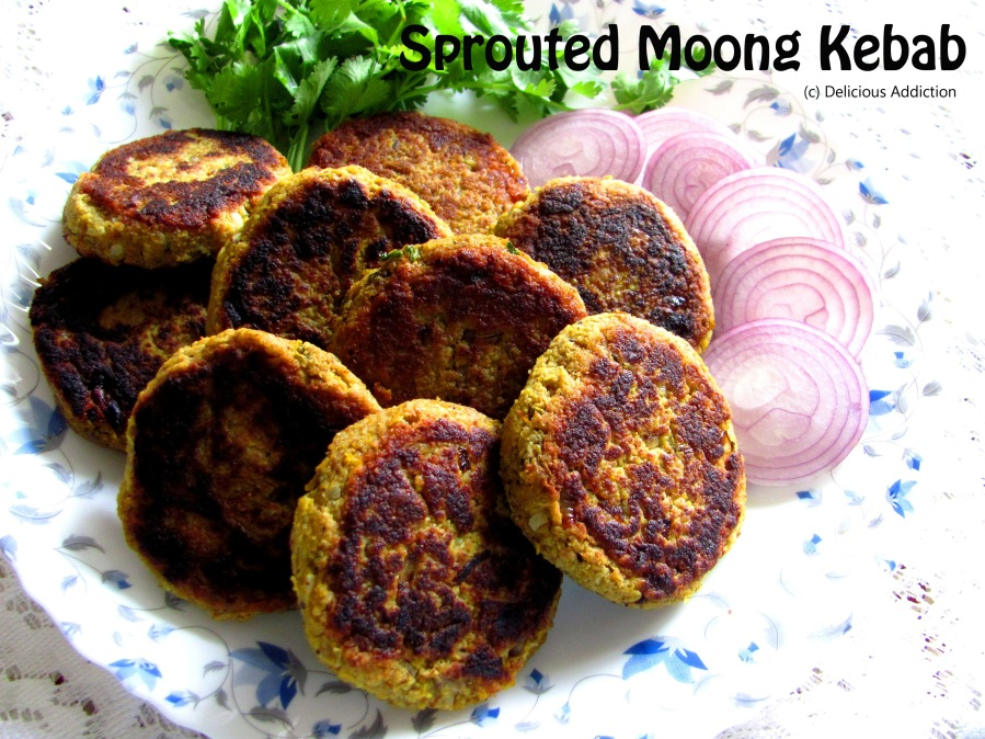 Sprouted Moong Kebab