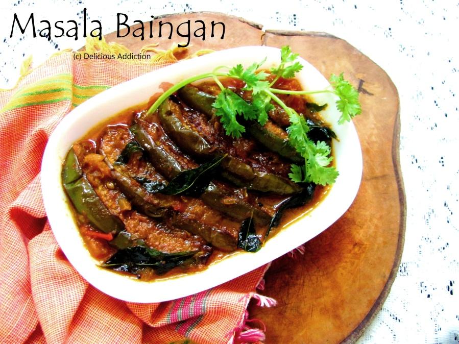 Masala Baingan (Spicy BrinjalCurry)