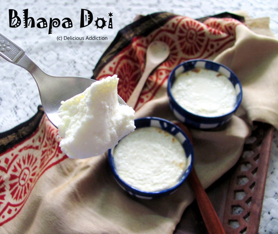 Bhapa Doi (Baked Yogurt)