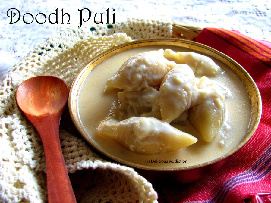 Doodh Puli (A traditional sweet dish fromBengal)