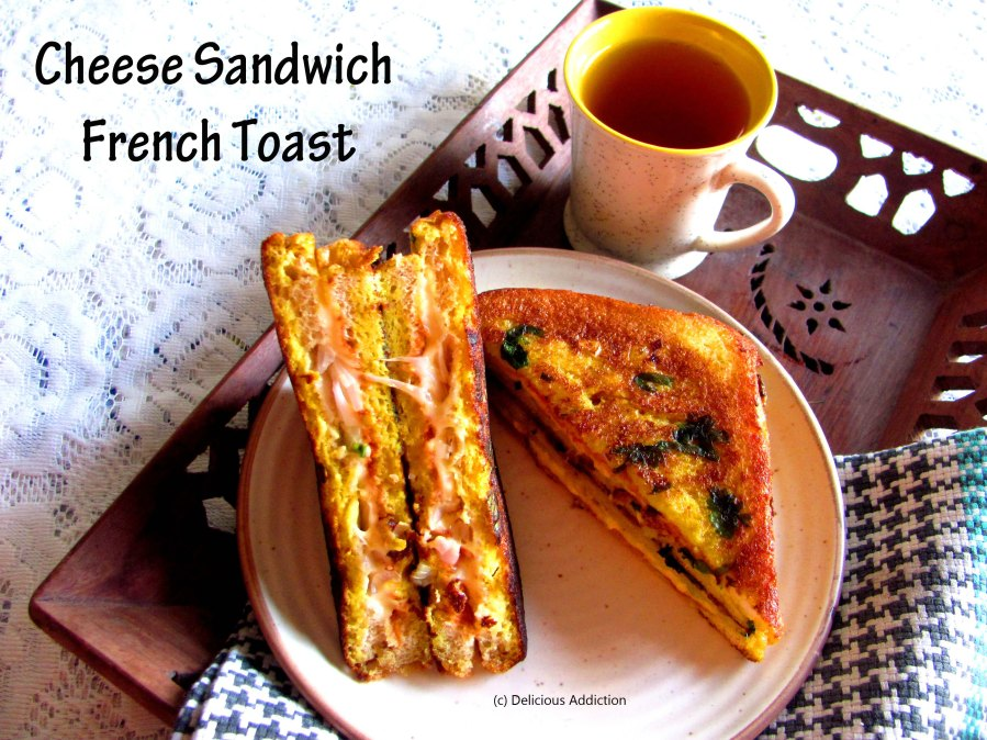 Cheese Sandwich French Toast