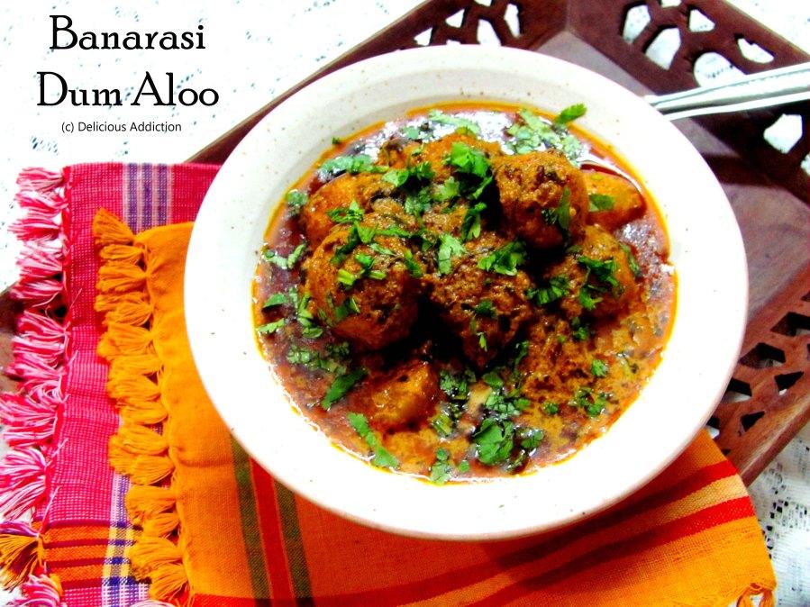 Banarasi Dum Aloo (Potato Curry with Rich TomatoSauce)
