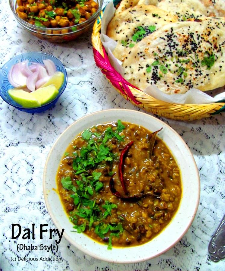 Dal Fry – Dhaba Style (Punjabi Mixed Lentil)