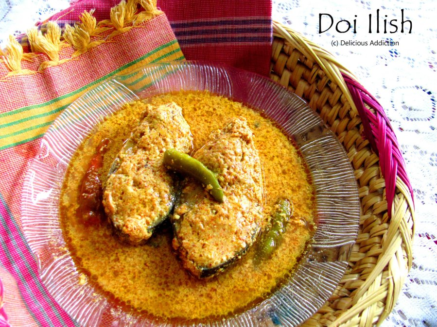 Doi Ilish (Hilsa Fish Curry with Yogurt)