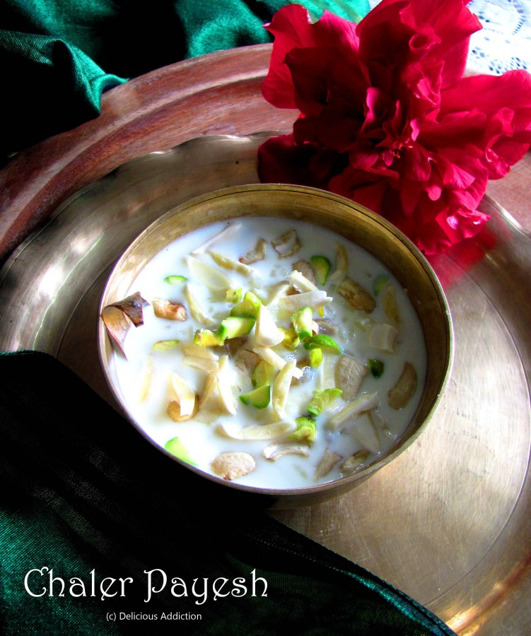Chaler Payesh (Bengali RicePudding)