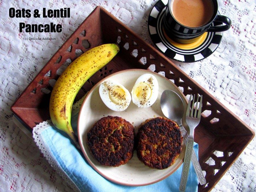 Oats & LentilPancake
