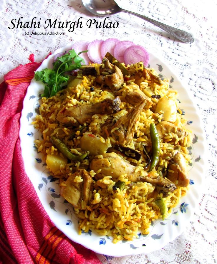 Shahi Murgh Pulao (Aromatic ChickenPilaf)