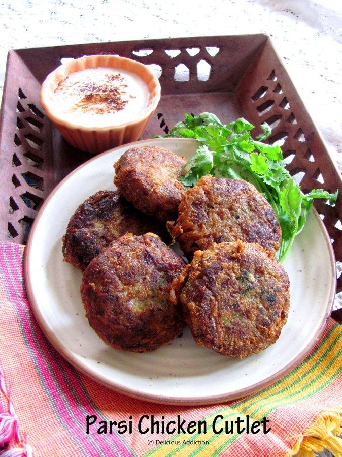 Parsi Chicken Cutlet