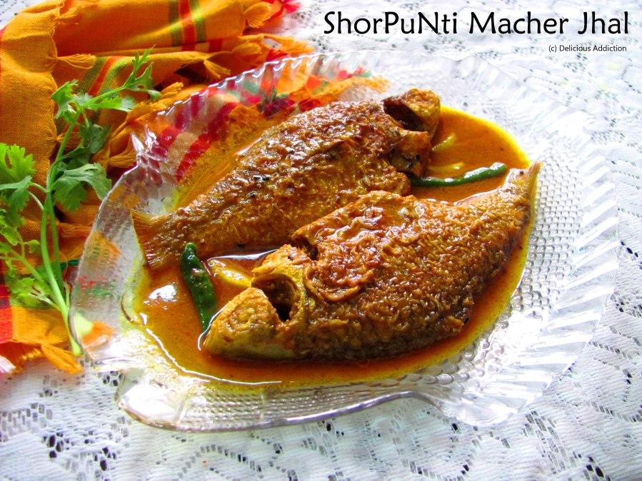 ShorPuNti Macher Jhal (Indian Native FishCurry)