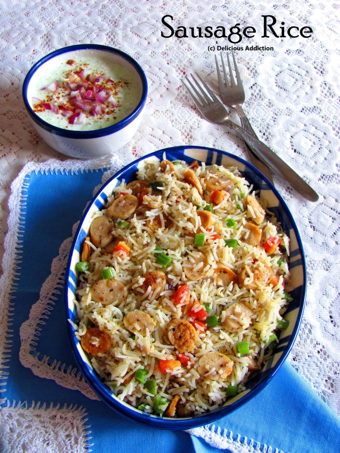 Sausage Rice with Vegetables