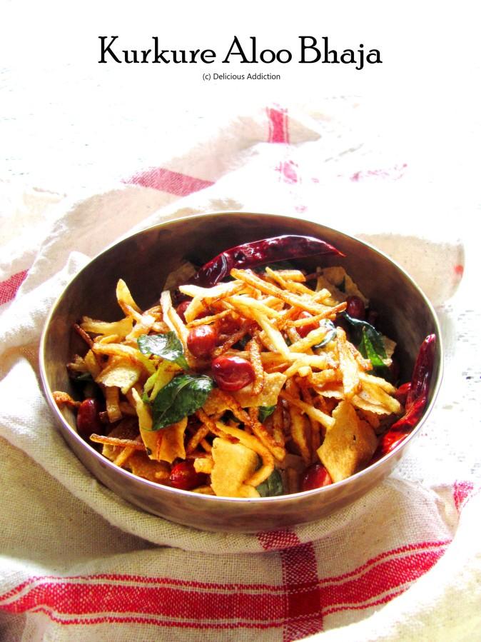 Kurkure Aloo Bhaja (Crispy PotatoFry)