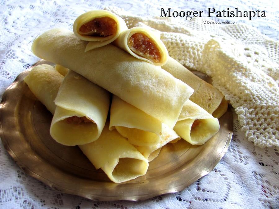 Mooger Patishapta (Bengali Traditional SweetDish)