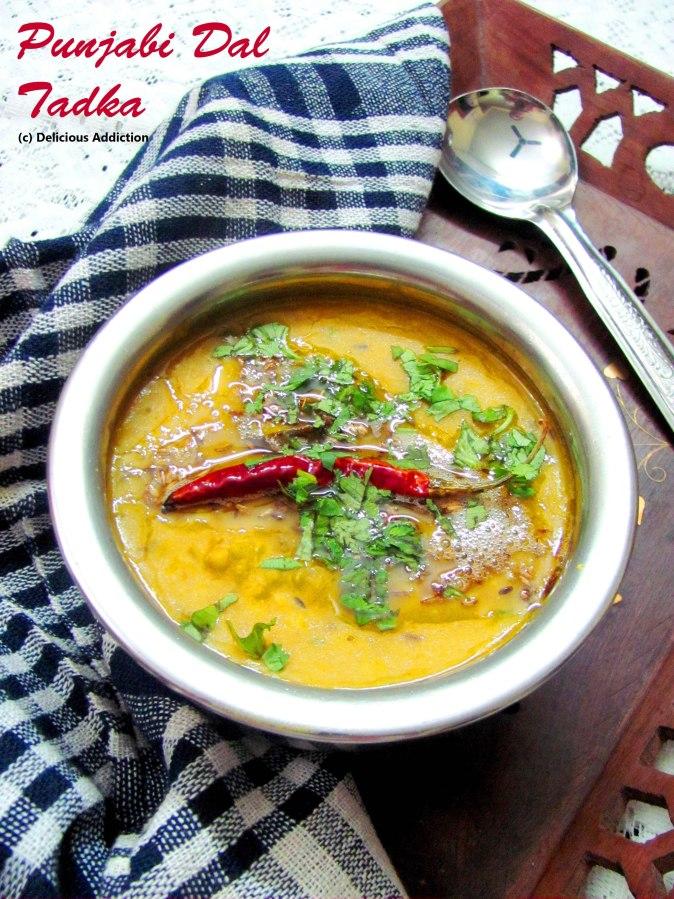 Punjabi Dal Tadka (Dhaba Style Tempered YellowLentil)