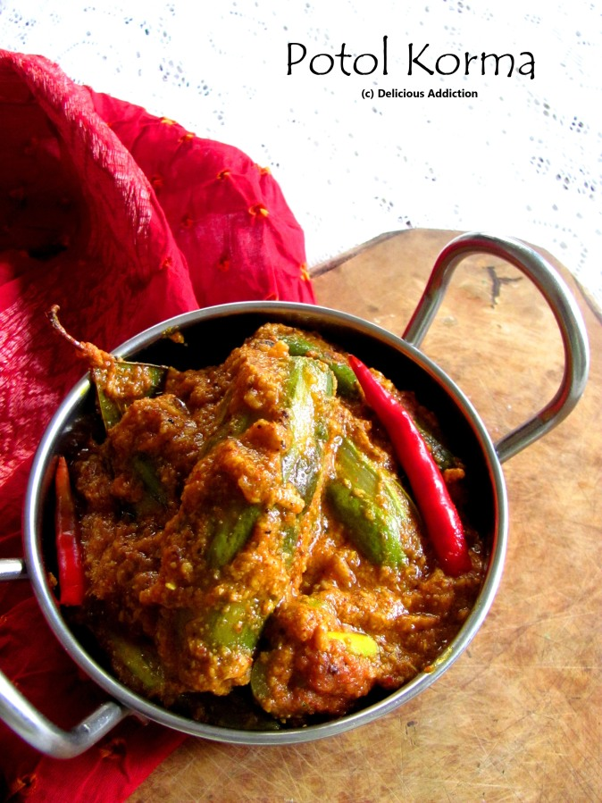 Potol Korma (Spicy Pointed Gourd Curry)