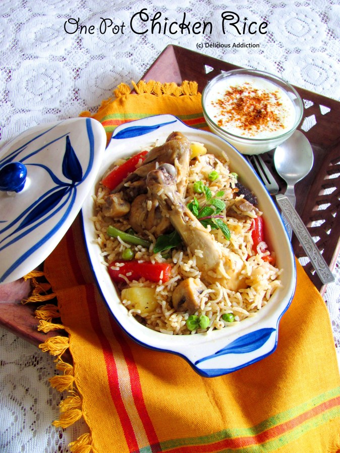 One Pot ChickenRice