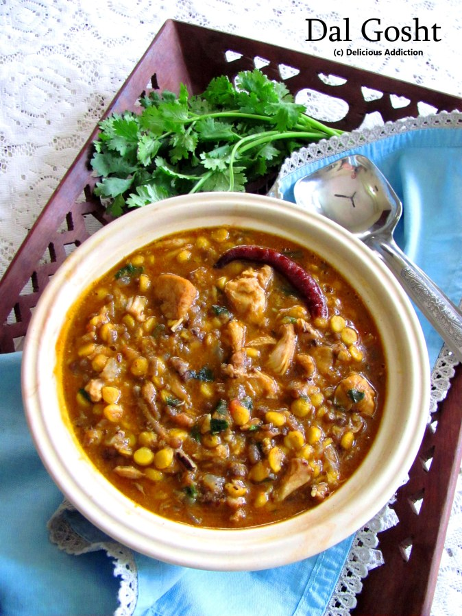 Dal Gosht (Bengal Gram with Chicken)