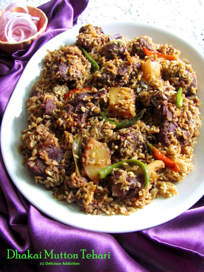 Dhakai Mutton Tehari (Mutton Pilaf)
