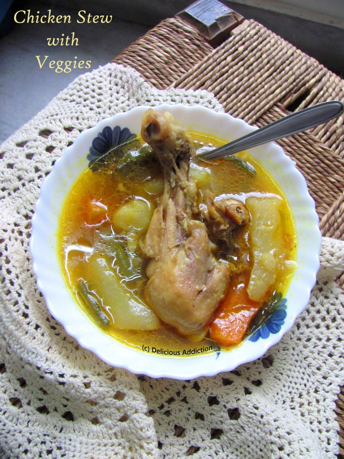 Chicken Stew withVeggies
