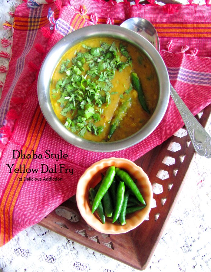Dhaba Style Yellow DalFry