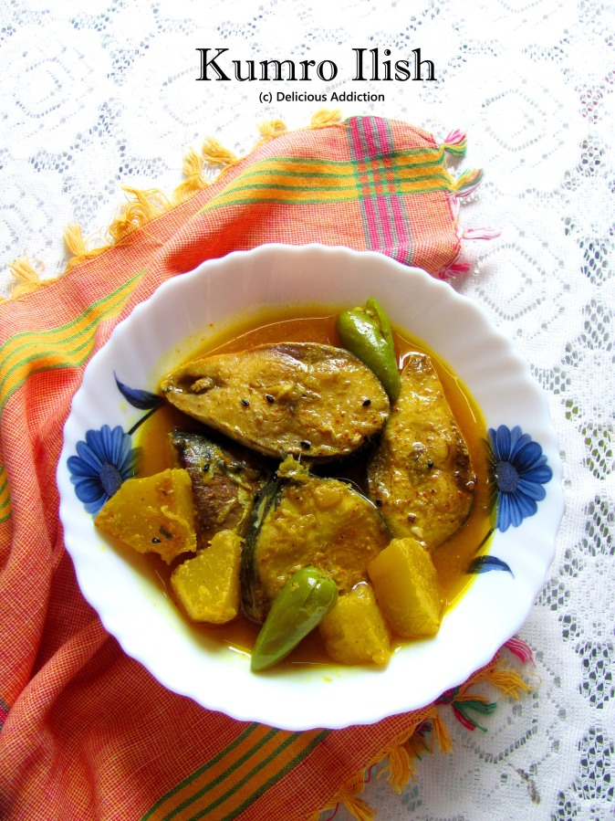 Kumro Ilish (Hilsa Fish with Pumpkin)
