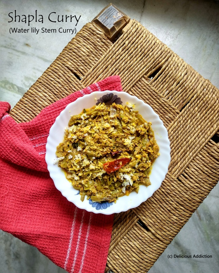 Shapla Curry (Water Lily Curry)