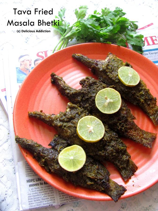 Tava Fried Masala Bhetki (Pan Roasted SpicyBarramundi)