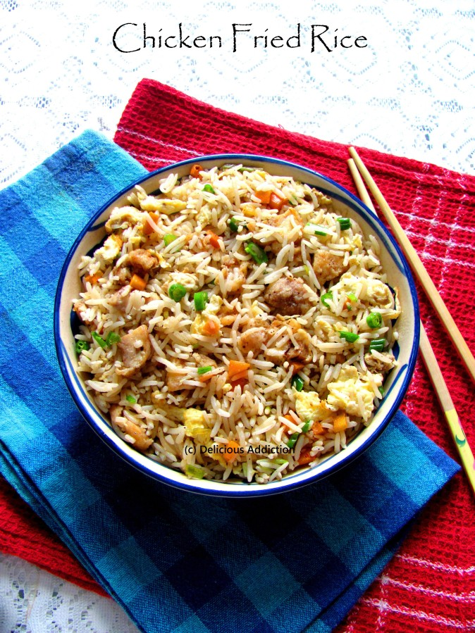 Chicken Fried Rice (Indo-Chinese Style)
