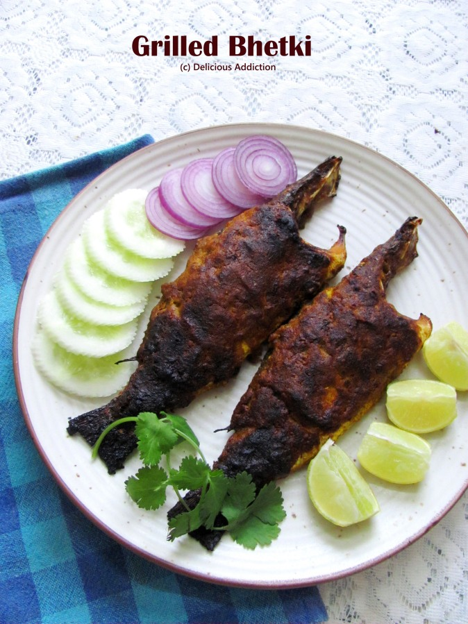 Grilled Bhetki (Grilled Barramundi)